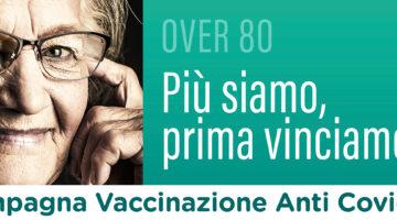 VACCINAZIONE  ANTI COVID OVER 80