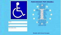Modello richiesta pass disabili