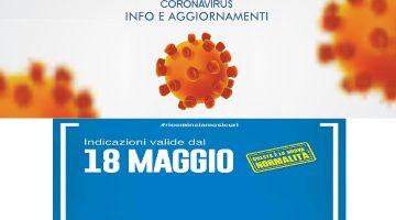 Allerta Sanitaria – Ultimi aggiornamenti del 18.05.2020