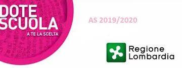 Dote Scuola 2019-2020 – Buonoscuola