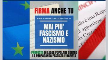 Raccolta firme contro propaganda fascista e nazista