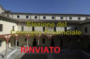 Elezione del Consiglio Provinciale Lodi – RINVIO